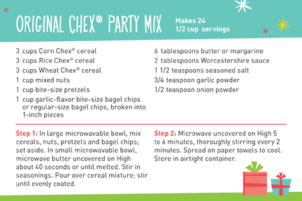 Easy chex party mix recipes