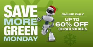 Save more green monday 1