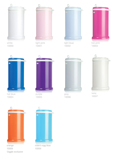 Ubbi Diaper Pail Brings Style To & Removes Odors From Your