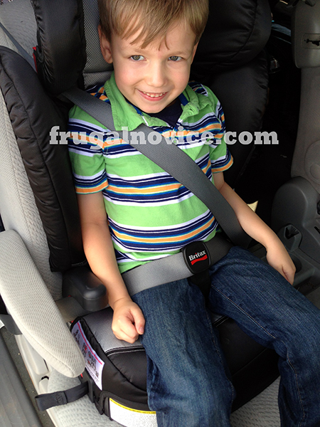 Britax Booster – Parkway SGL 2013 • Continuing Car Safety for Kids ...