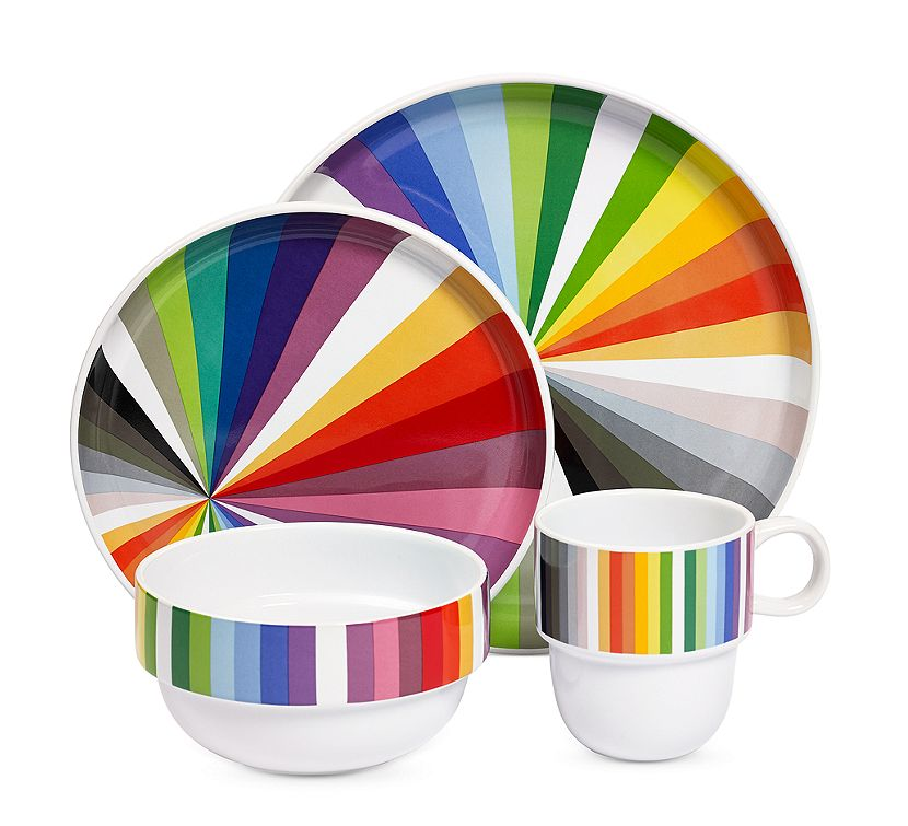 NovogratzLine  sc 1 st  Frugal Novice : colored dishes dinnerware - pezcame.com