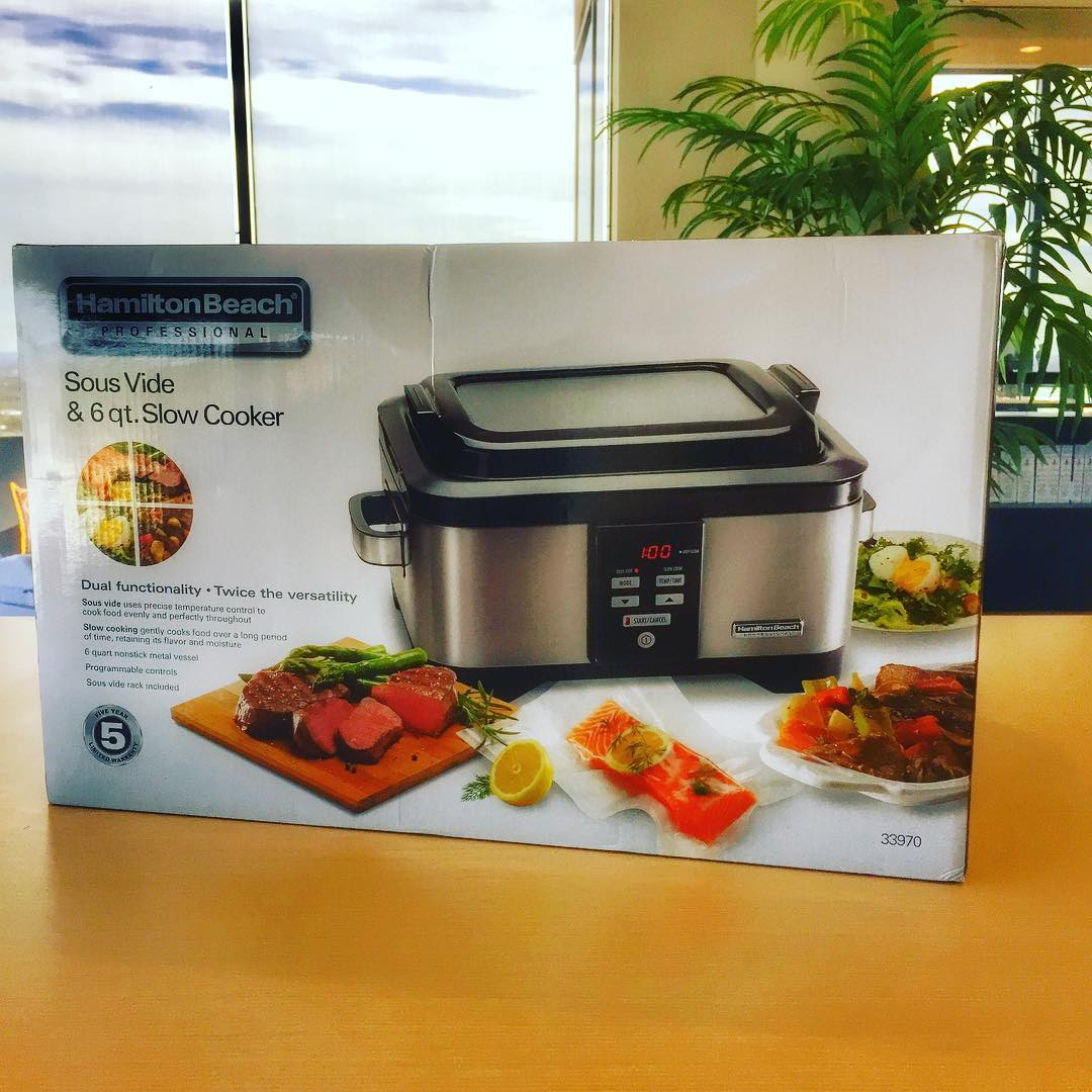 Excited for our next cooking adventure  sous vide! Thishellip