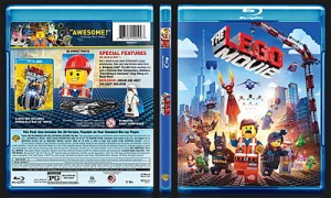 The Lego Movie (2014) BluRay Cover 11mm