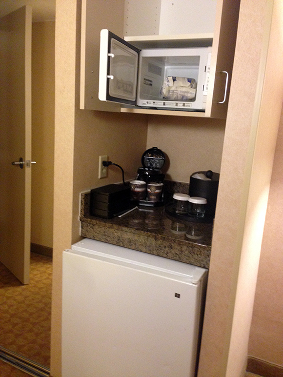 EmbassySuites-Fridge-Microwave