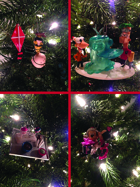 Hallmark-Keepsake-Ornaments-On-Tree