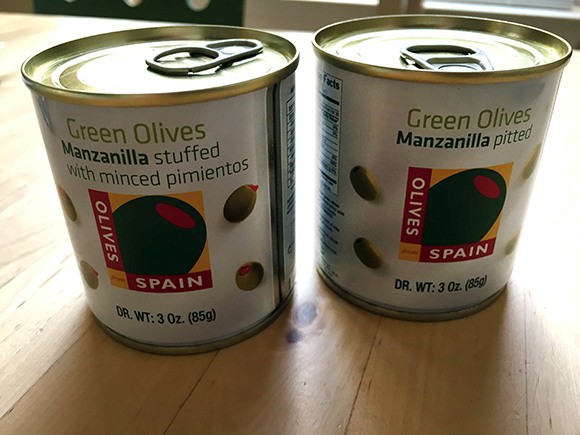 Olives-From-Spain-Cans