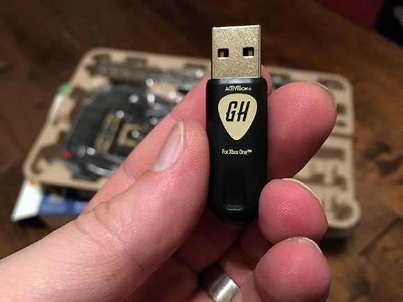 GuitarHero-Dongle