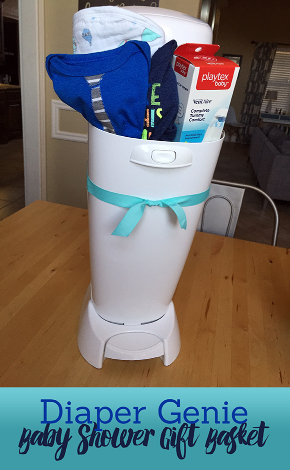 Perfect Baby Shower Gift Diaper Genie Gift Basket Frugal Novice