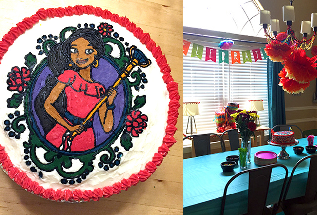 Elena Of Avalor Birthday Party And Cake