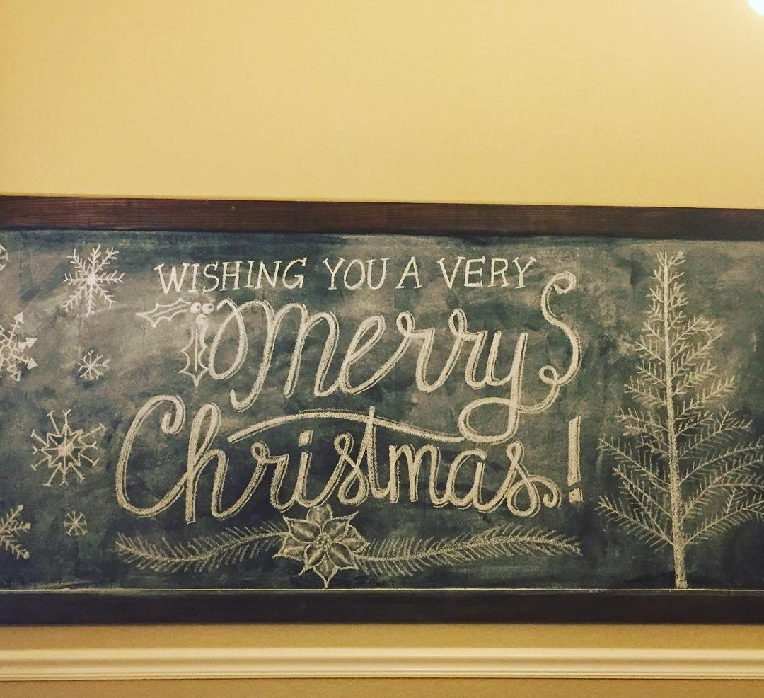 Creating chalkboard art is always one of my favorite wayshellip