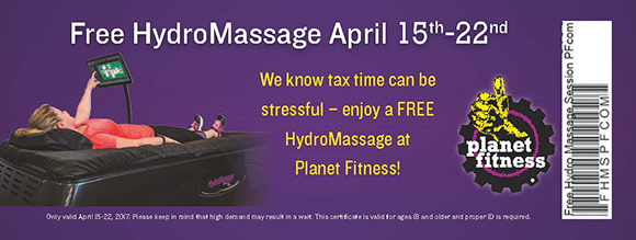 Planet Fitness_Tax Day_HydroMassage