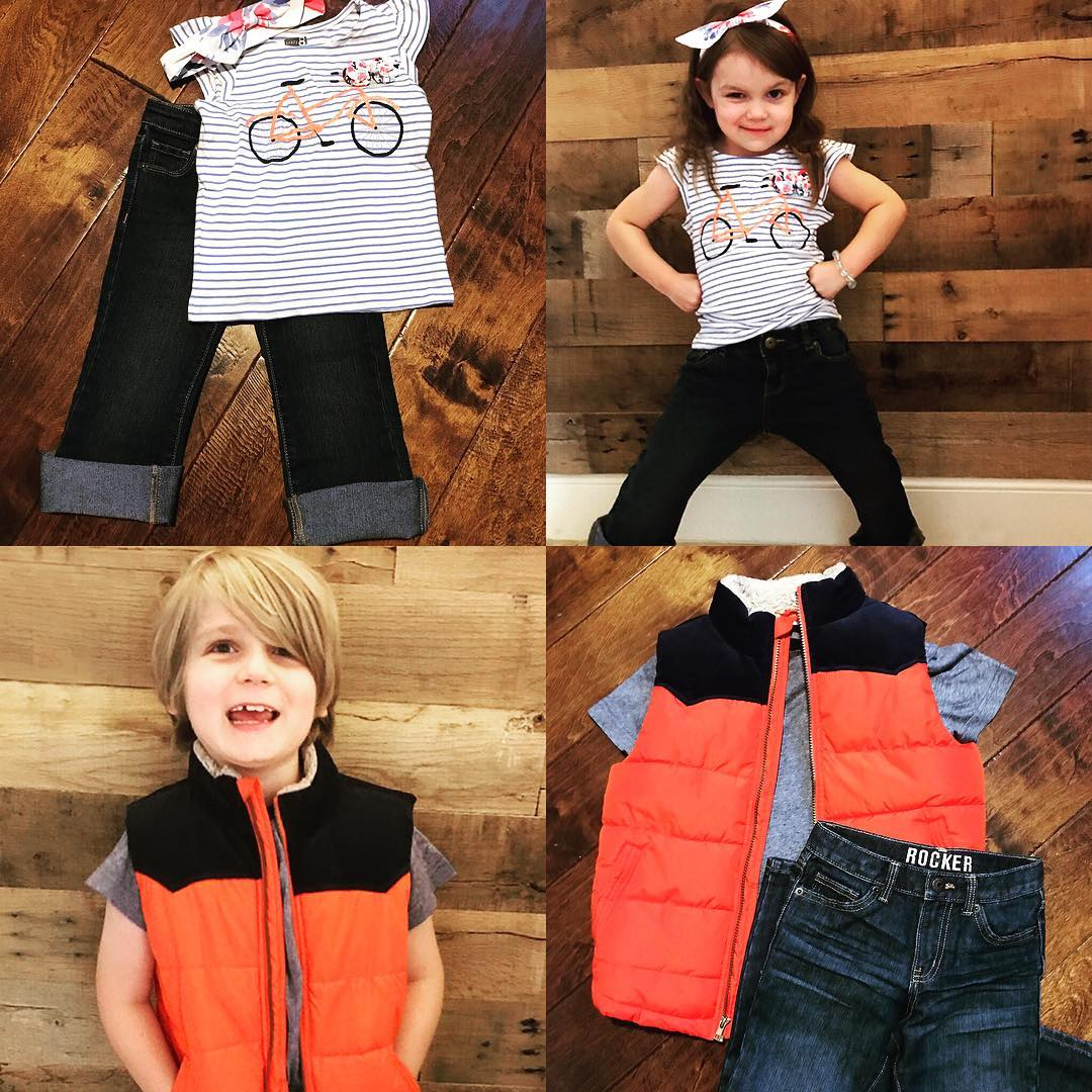 GIVEAWAY ALERT! We adore our backtoschool clothes from crazy8 sohellip