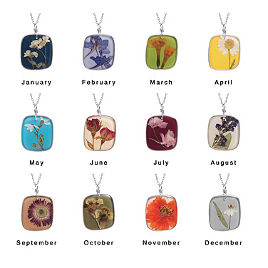 Just Like Birthstones There Are Flowers For Each Month
