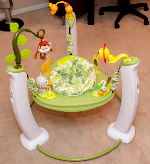 Get Your Baby Moving With The Evenflo Exersaucer Jump
